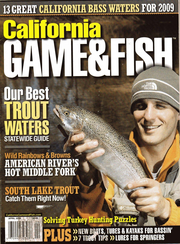 California game fish magazine april 2009 for Game and fish magazine