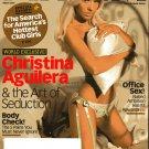 Maxim March 2007-Christina Aguilera & The Art Of Seduction