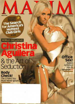 Maxim March 2007-Christina Aguilera & The Art Of Seduction
