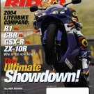 Sport Rider June 2004-The Ultimate Showdown