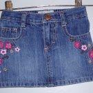 Oshkosh Denim Skirt For Girls Sz:2T
