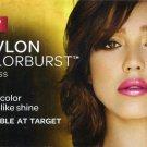 Revlon Colorburst Hot Pink Lipgloss Sample