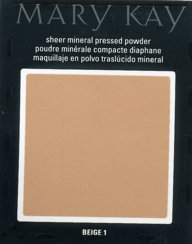 Mary Kay  Beige 1 Sheer Mineral Pressed Powder Sample