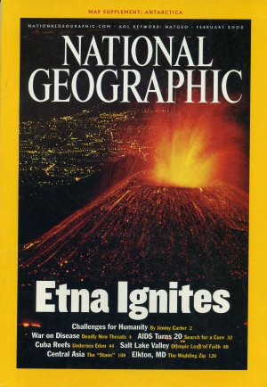 National Geographic February 2002-Etna Ignites
