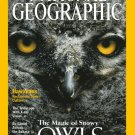 National Geographic December 2002- The Magic Of Snowy Owls