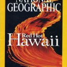 National Geographic October 2004- Red Hot Hawaii