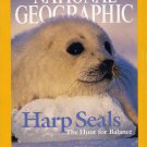 National Geographic March 2004-Harp Seals