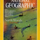 National Geographic November 1997-North Woods Journal