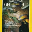 National Geographic December 1989-The Sistine Restorati