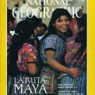 National Geographic October 1989-La Ruta Maya + *Map*