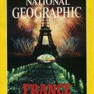 National Geographic July 1989-France Celebrates Its Bicentennial + MAP