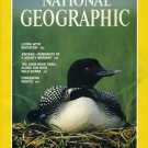 National Geographic April 1989-Cry Of The Loon