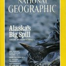National Geographic January 1990-Alaska's Big Spill + *MAP*