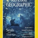 National Geographic April 1987-Seals And Their Kin + *Map*