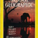National Geographic May 1991-Elephants Out Of Time, Out Of Space