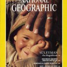 National Geographic NOVEMBER 1987-SULEYMAN the Magnificent + MAP