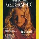 National Geographic February 1987-Iceland + MAP:The United States Its Growth