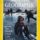 National Geographic June 1992- The World's Great Lake + *Plus  Double Map Supplement
