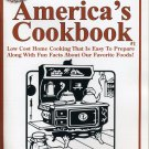 """America's Cookbook"" Traditional Homestyle Low Cost Recipes"