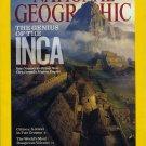 National Geographic APRIL 2011 Genius INCA Machu Picchu Peru, Crimea, Volcano