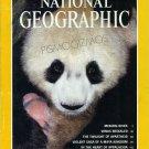 National Geographic February 1993-Newborn Panda in the WIld
