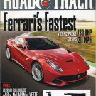 Road & Track Magazine October 2012 Ferrari's Fastest, McLaren vs. Vette