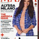 Maxim Magazine - July/August 2013 - New - ALYSSA MILANO