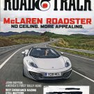 Road & Track Magazine January 2013- McLaren Roadster MP4-12C Spider, Audi S7, Benz W125