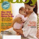 American Baby Magazine January 2012-New Baby,New Year,New Hair/ Alyssa Milano!