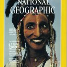 National Geographic October 1983 Niger's Wodaabe Martin Luther Japanese Cranes