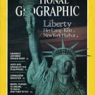 National Geographic July 1986 - Statue Of Liberty, Corregidor: Island Fortress