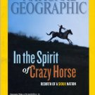 National Geographic August 2012 Crazy Horse Sioux Nation Native Americans, Tibet