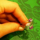 Simply Elegant 3 Beads Ring