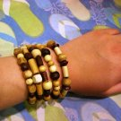 Natural Wood Elements bracelet