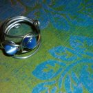 Cat's Eye Spiral ring