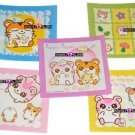 Kawaii Hamu Hamu Hamster Memos Notes Mini Pad Korea