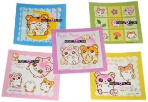 Kawaii Hamu Hamu Hamster Memos Notes Mini Pad Korea