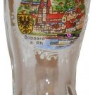 Boot Boppard Rhein Jigger Shot Glass Schnapps Glasses