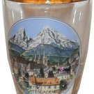 Europe Berchtesgaden Jigger Shot Glass Schnapps Glasses