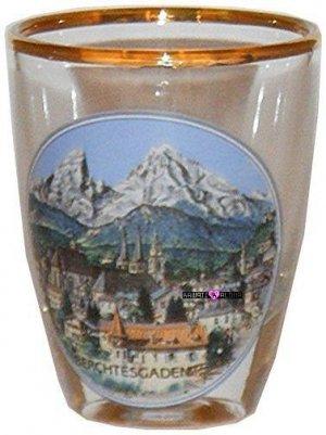 Europe Berchtesgaden Jigger Shot Glass Schnapps Glasses