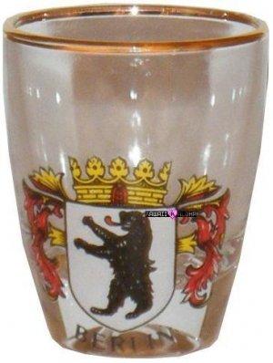Europe Berlin Germany Bear Shot Glass Schnapps Glasses