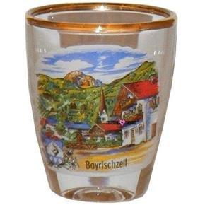 Europe Bayrischzell Shot Glass Schnapps Glasses