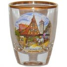 Europe Rothenburg Jigger Shot Glass Schnapps Glasses