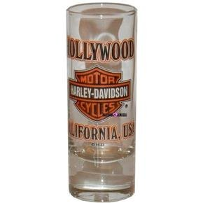Harley Davidson Biker Hollywood Shot Glass Schnapps Glas