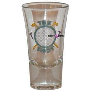 Tee Shot Golf Ball Shot Glass Schnapps Glasses