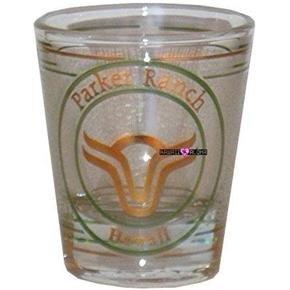 Parker Ranch Hawaiian Hawaii Shot Glass Schnapps Glasses