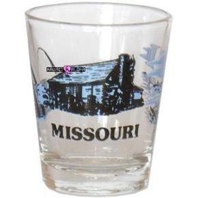 Missouri Shot Glass Schnapps Glasses USA Jigger