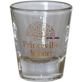 Princeville Hotel Kauai Hawaii Shot Glass Schnapps Hawaiian Glasses