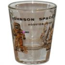 Johnson Space Center Houston Shot Glass Schnapps Glasses