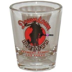 Las Vegas Freemont Downtown Shot Glass Schnapps Glasses